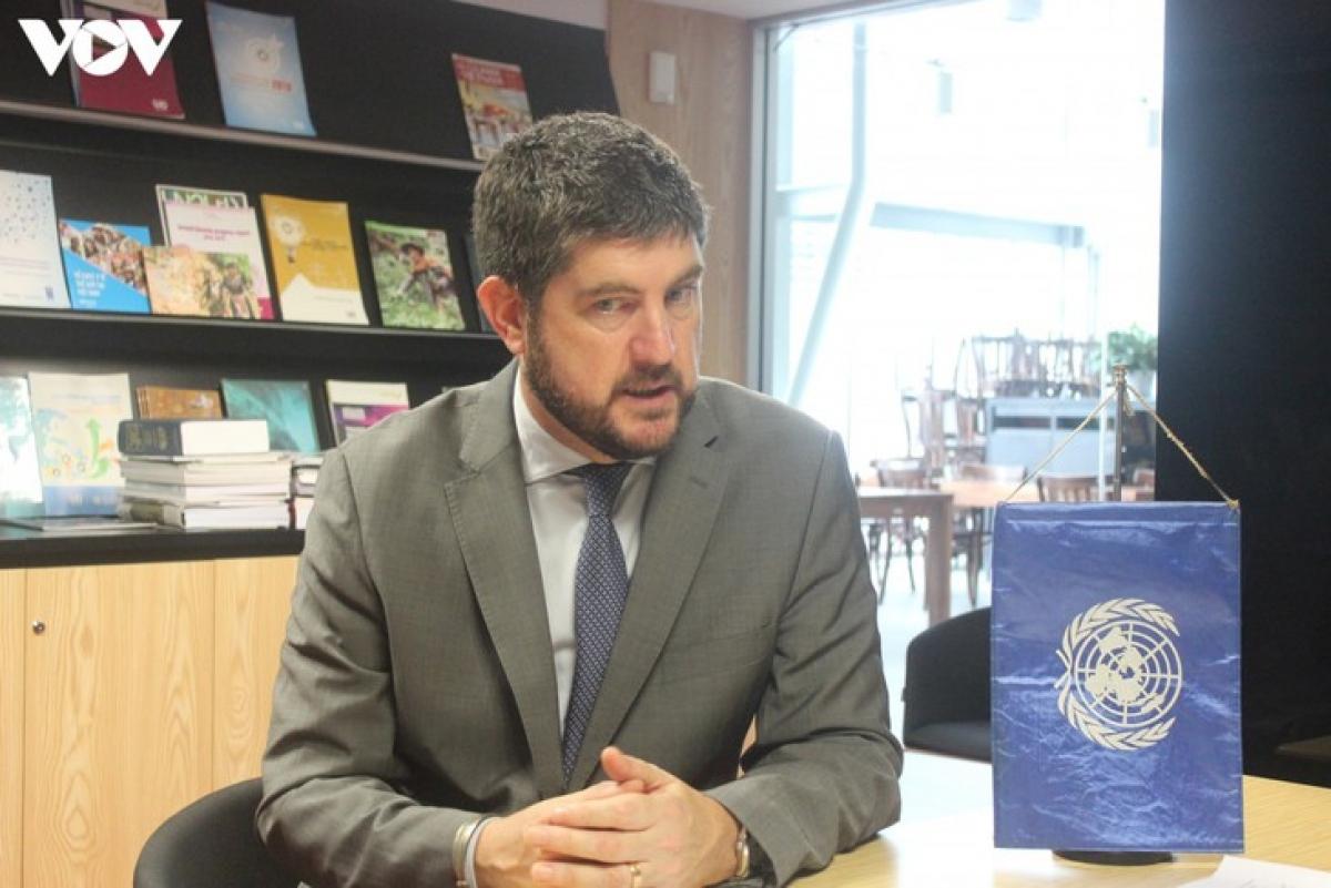 UNESCO Chief Representative in Vietnam Micheal Croft