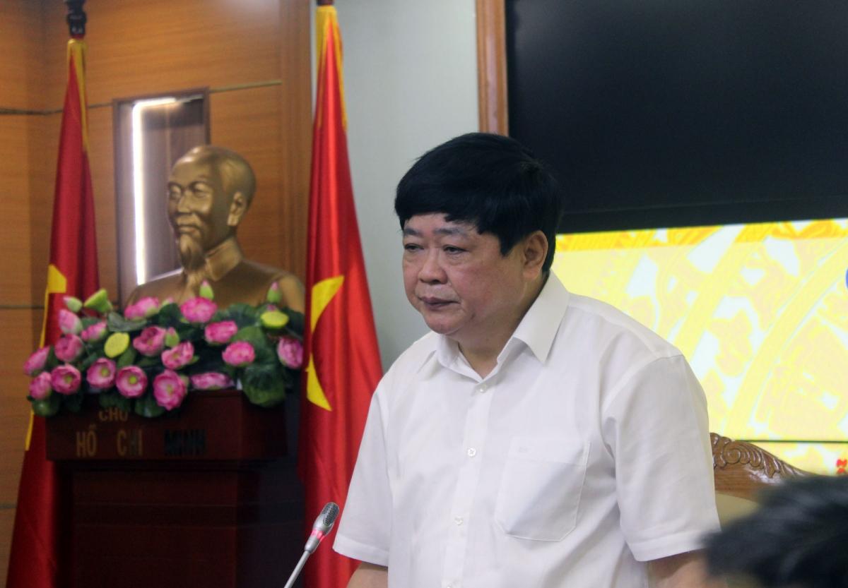 Ông Nguyễn Thế Kỷ, Tổng Giám đốc VOV phát động toàn Đài ủng hộ đồng bào bị bão lũ miền Trung.