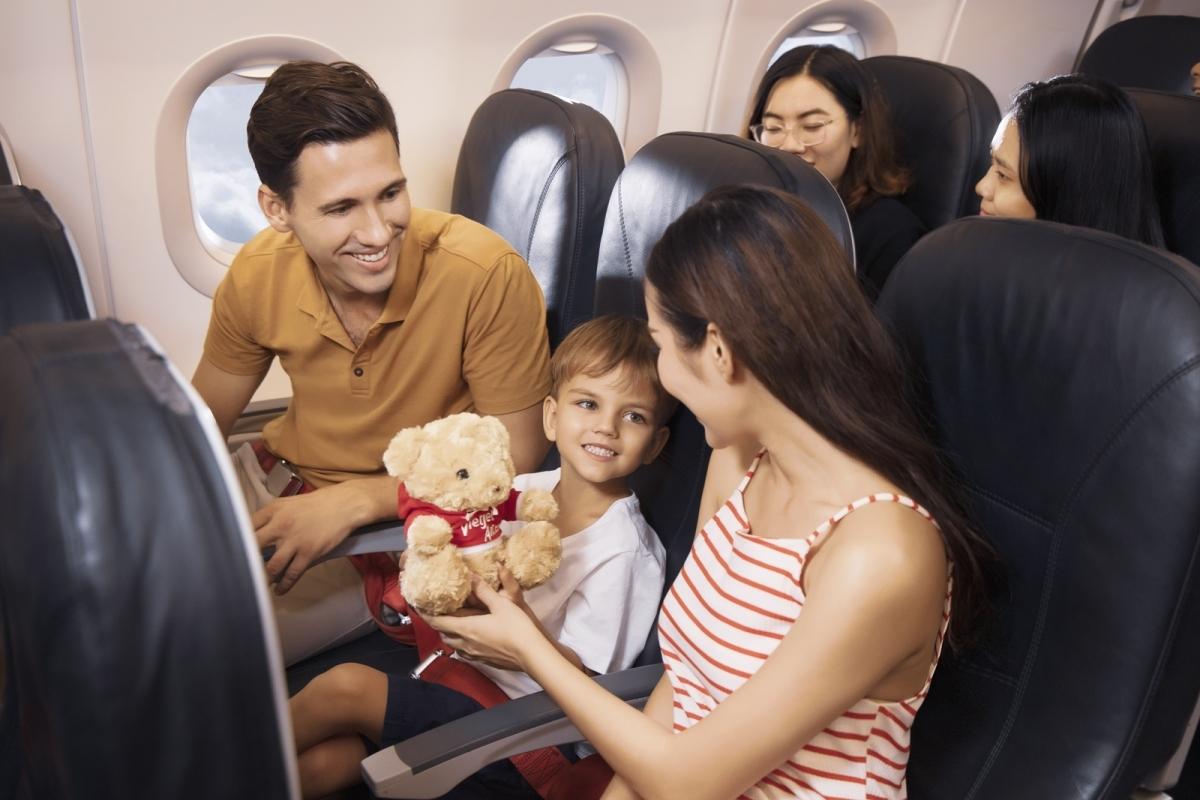 Đường bay TP HCM – Hà Nội được Vietjet tăng tần suất lên 25 chuyến/ngày.