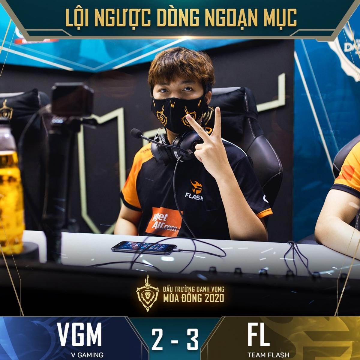 """""""Thần rừng"""" ADC tìm lại chính mình ở 3 ván đấu quyết định trước V-Gaming. (Ảnh: Cao thủ Liên quân)."""