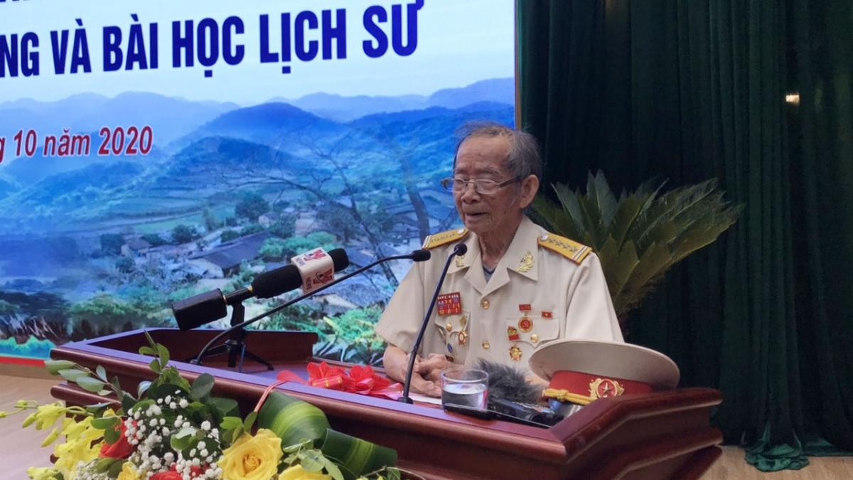 Đại tá Nguyễn Bội Giong (năm nay đã 96 tuổi) nhớ lại những ký ức về Chủ tịch Hồ Chí Minh vĩ đại.