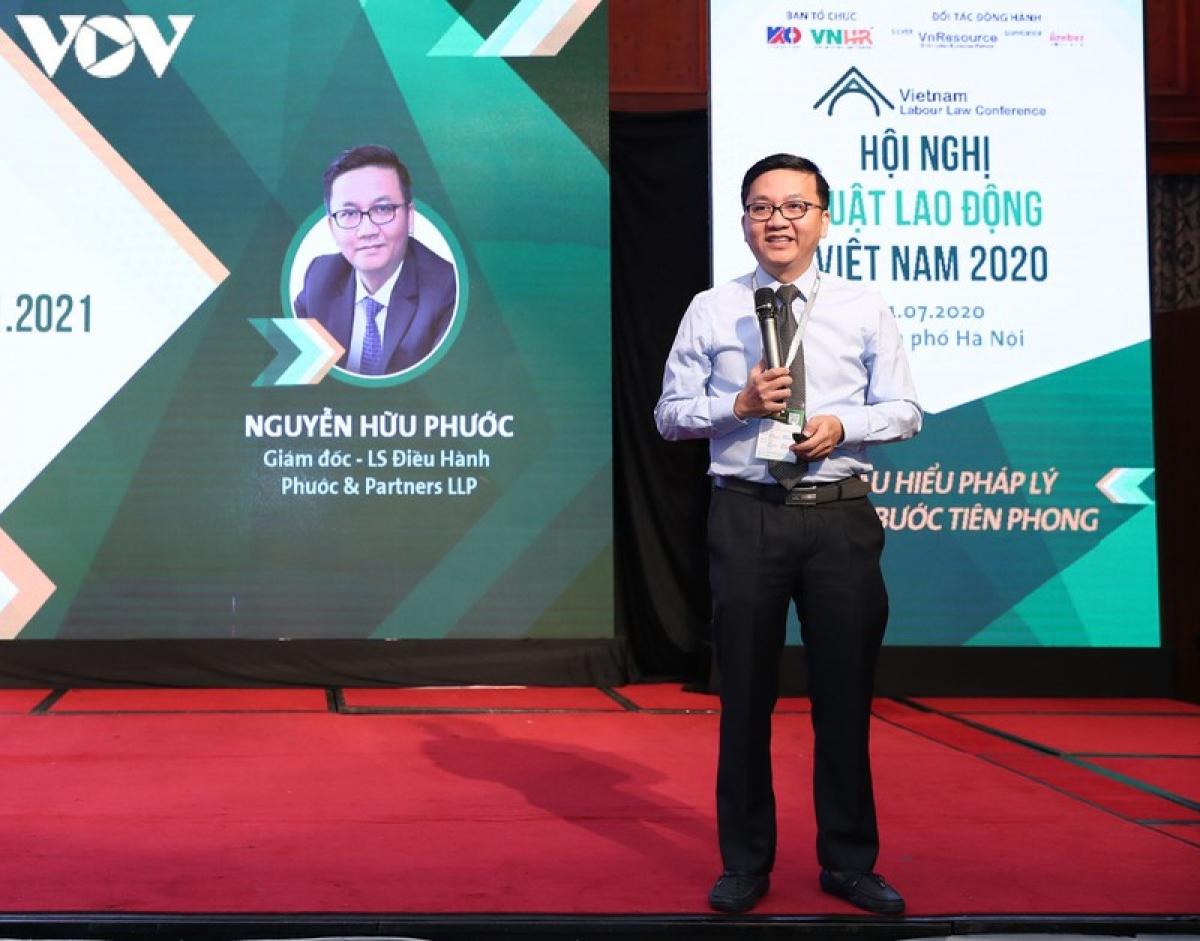 Luật sư Nguyễn Hữu Phước chỉ ra một số điểm mới trong Luật Lao động 2019 sửa đổi một số điều của Luật Lao động 2012.