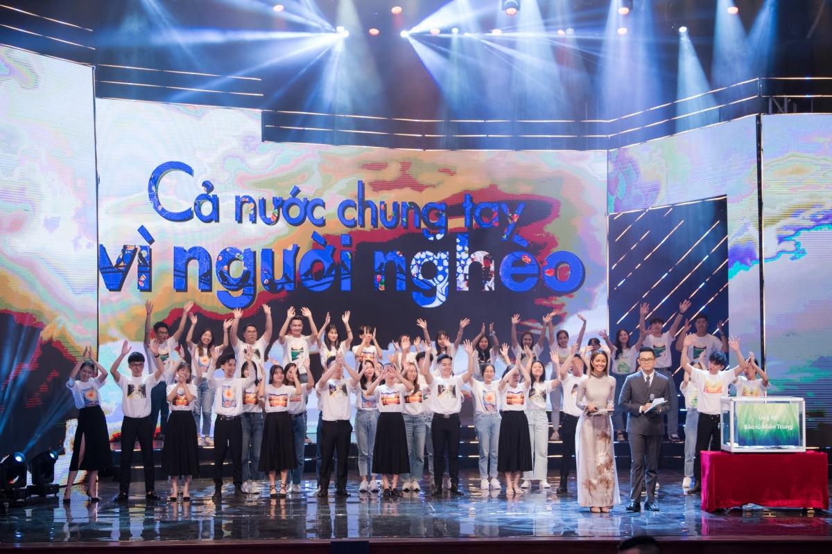 """Tối 17/10, MC Đức Bảo đảm nhận vai trò người dẫn chương trình """"Cả nước chung tay vì người nghèo 2020""""."""