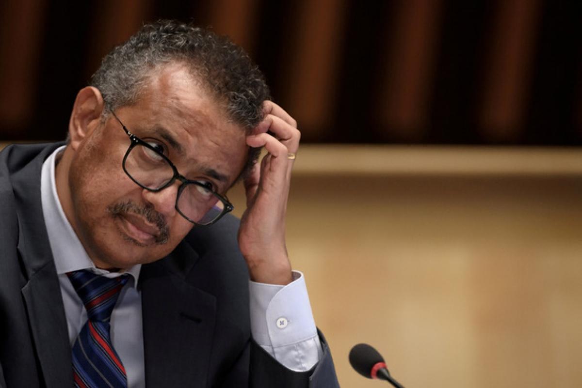 Tổng giám đốc Tổ chức Y tế thế giới (WHO) Tedros Adhanom Ghebreyesus - Ảnh: REUTERS