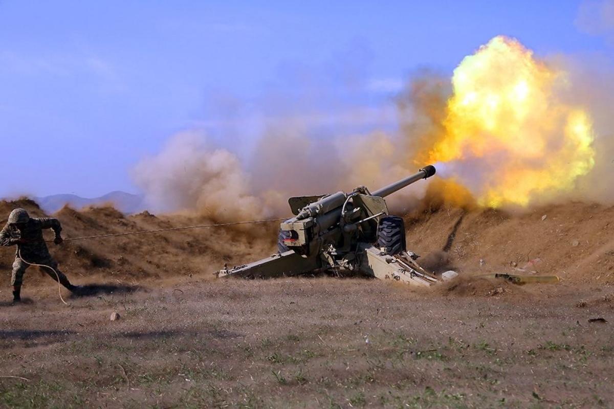 Xung đột Armenia-Azerbaijan tiếp tục căng thẳng khi các bên tố cáo nhau vi phạm lệnh ngừng bắn thứ 3. (Nguồn: Anadolu).