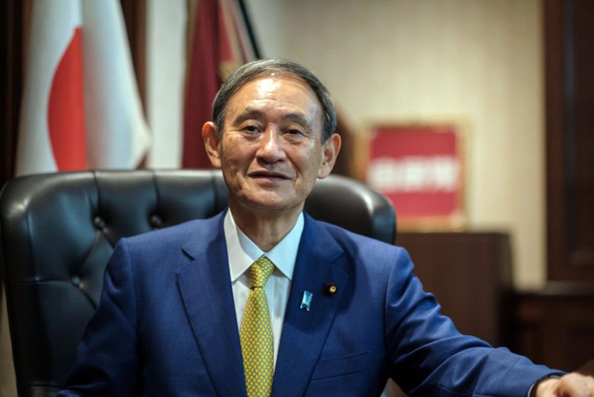 Thủ tướng Nhật Bản Suga Yoshihide (Ảnh: AFP)