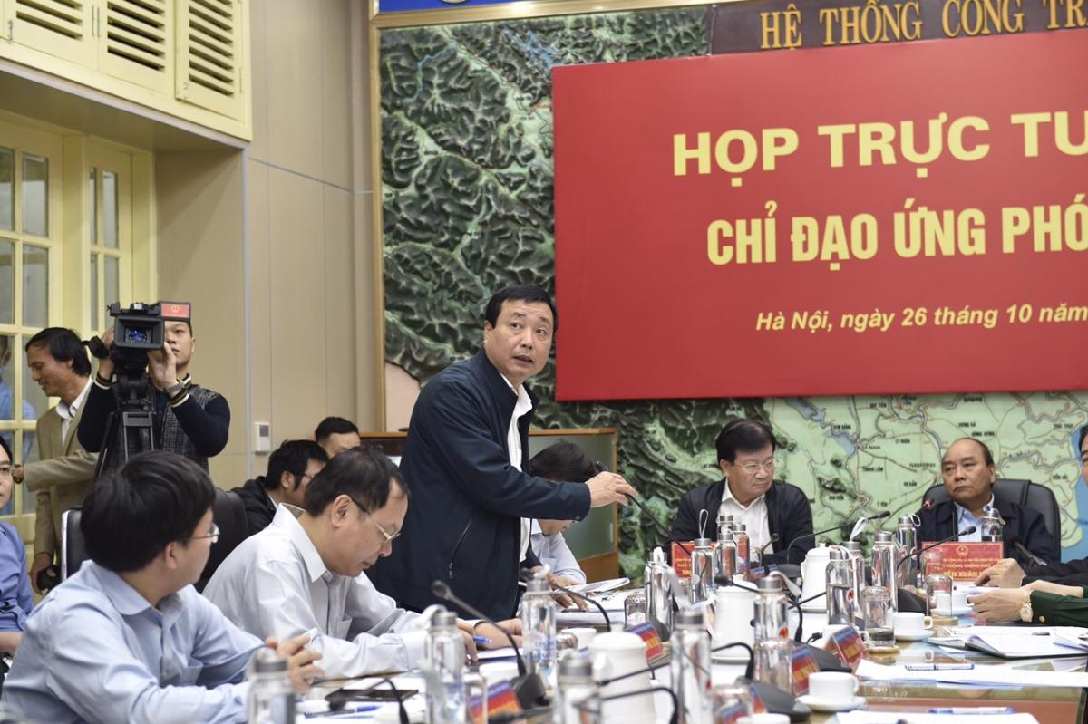 Ông Trần Quang Hoài – Tổng cục Trưởng Tổng cục PCTT – Phó Trưởng Ban Chỉ đạo TƯ về PCTT.