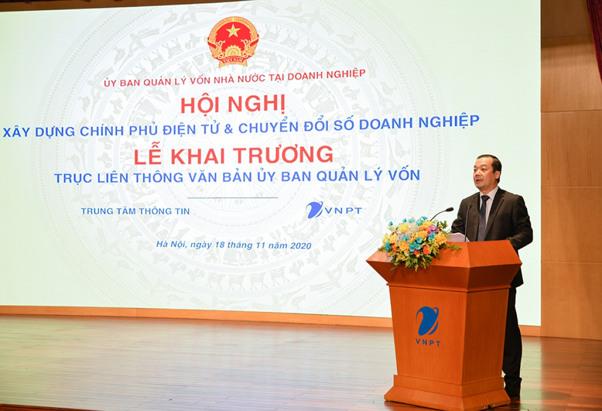 Ông Phạm Đức Long - Chủ tịch Hội đồng thành viên Tập đoàn Bưu chính Viễn thông Việt Nam (VNPT).