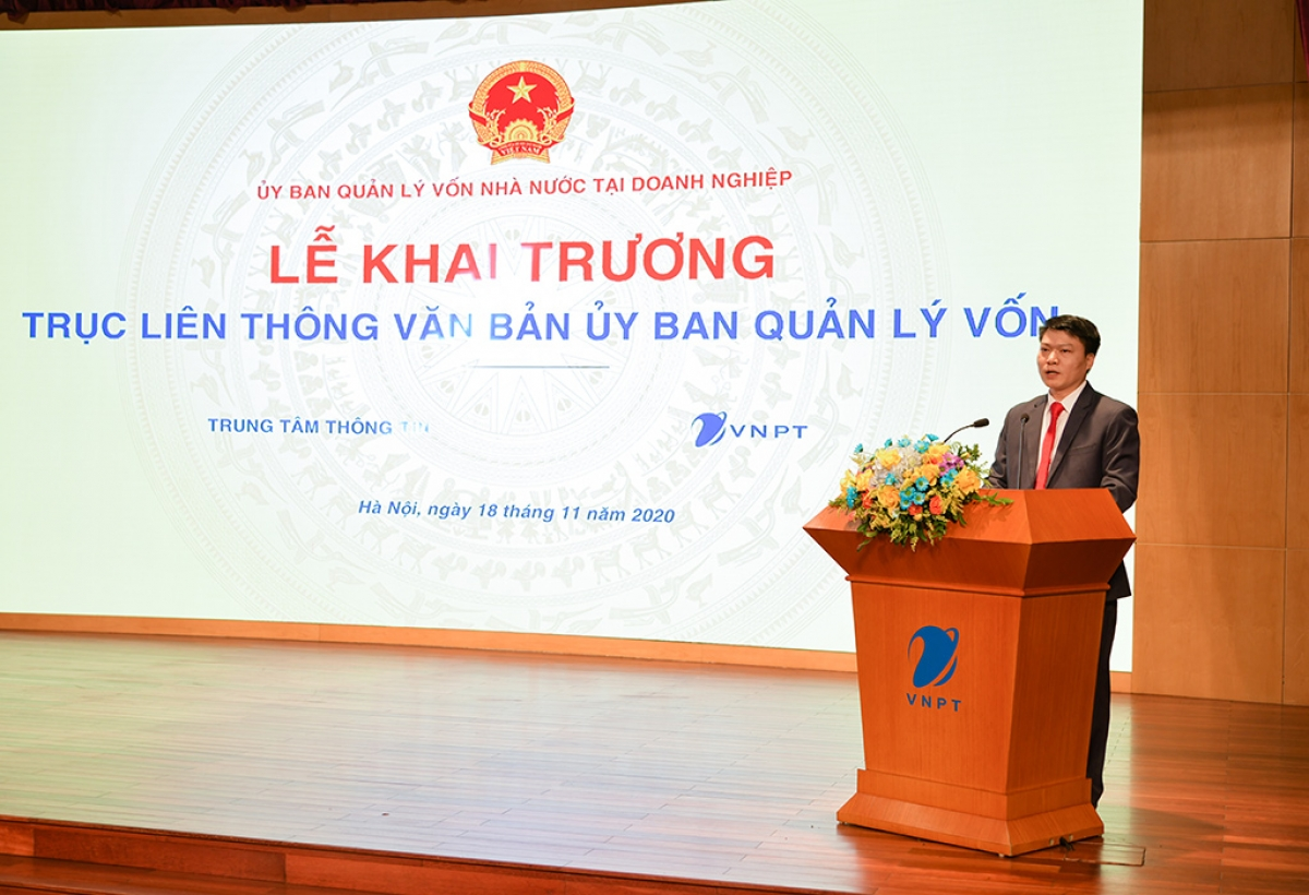 Ông Trần Công Hòa – Phó Giám đốc phụ trách Trung tâm Thông tin (Ủy ban Quản lý vốn nhà nước tại doanh nghiệp).
