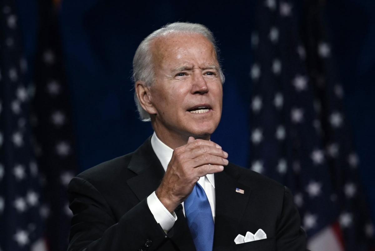 Ứng viên đảng Dân chủ Joe Biden. Ảnh: AFP