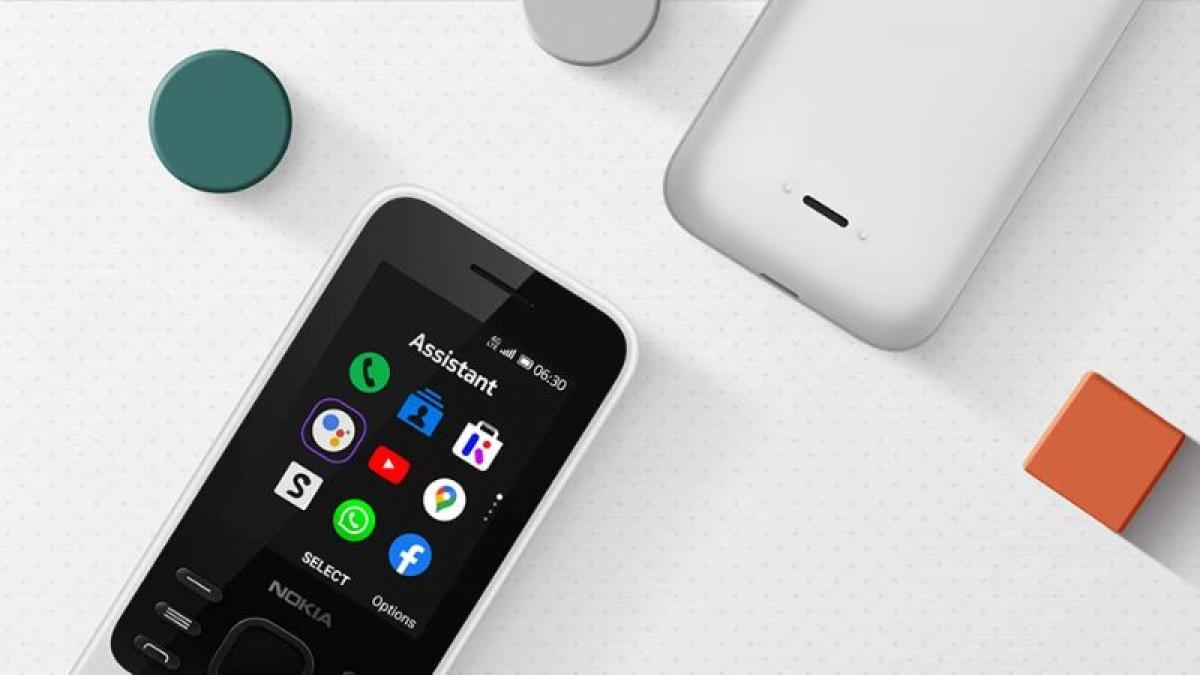 Nokia 6300 4G được bán với giá 1,29 triệu đồng tại Việt Nam