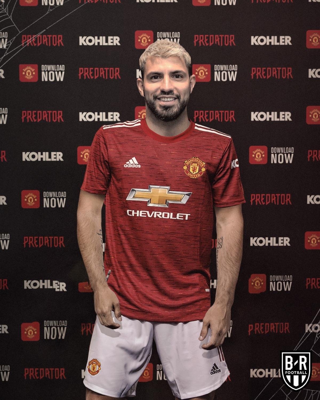 Sergio Aguero giúp MU thống trị Premier League.