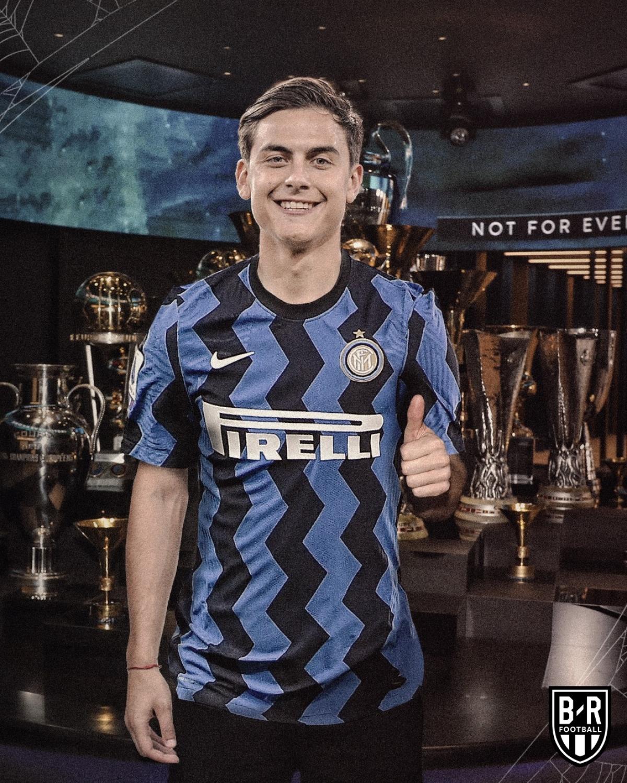 Paulo Dybala đến Inter Milan đá cặp với người đồng hương Lautaro Martinez.