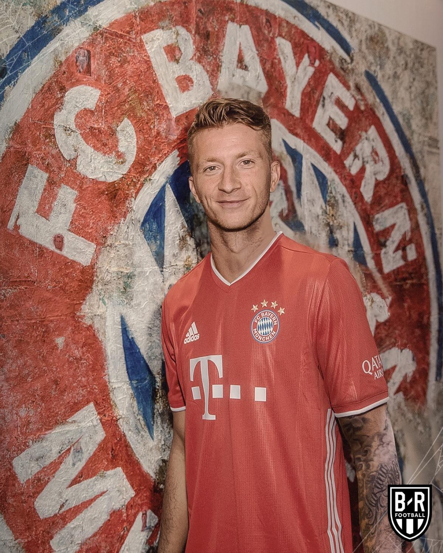 Marco Reus đầu quân Bayern Munich thay vì Dortmund.