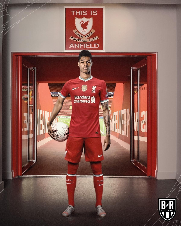 Marcus Rashford trở thành niềm tự hào của Liverpool.