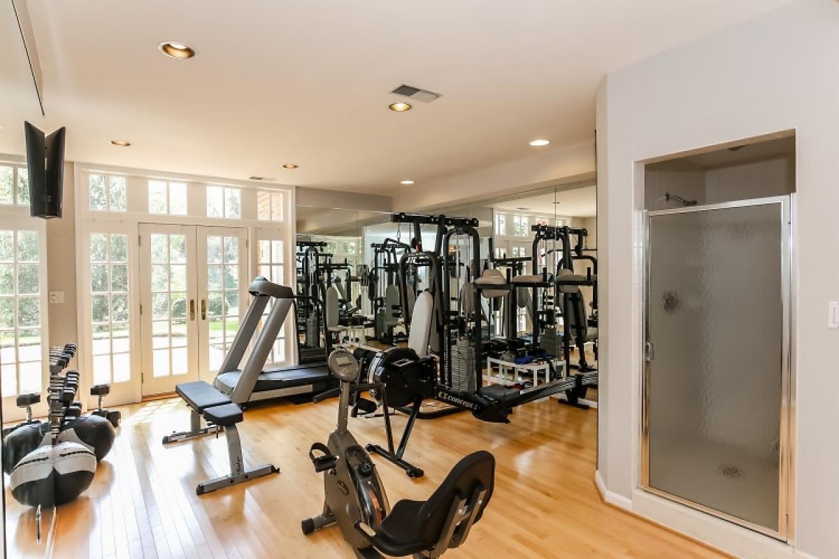 Phòng tập thể dục.