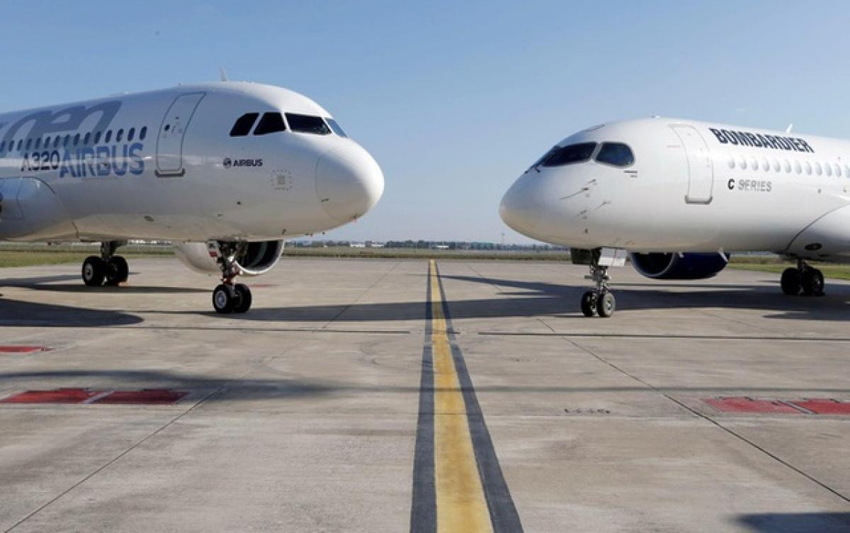 EU dự định sẽ áp thuế đối với 4 tỷ USD hàng hóa nhập khẩu của Mỹ nhằm trả đũa việc Mỹ trợ cấp cho hãng sản xuất máy bay Boeing (Ảnh minh họa: KT)