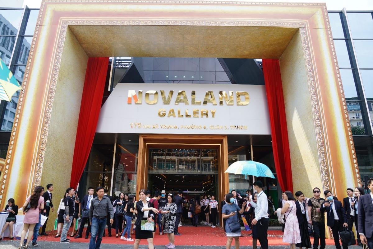 Novaland Gallery tại 179 Hai Bà Trưng, P.6, Q.3 đã chính thức khai trương từ 19/11.