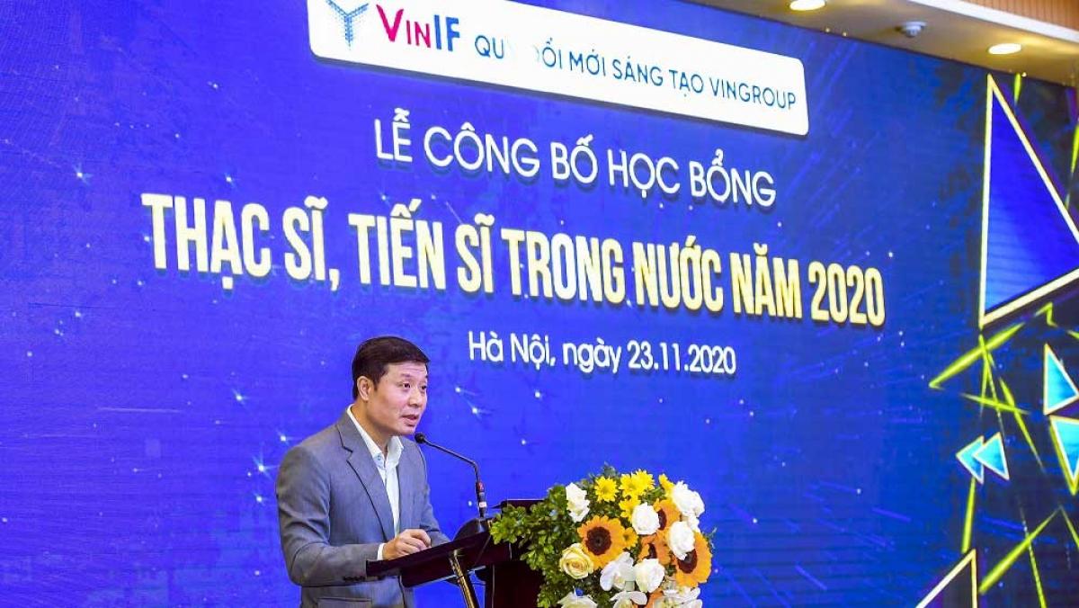 GS. Vũ Hà Văn (Giám đốc Khoa học Quỹ Đổi mới sáng tạo Vingroup) khẳng định: VinIF luôn nỗ lực hết sức để đồng hành cùng đội ngũ các nhà nghiên cứu trẻ, các cán bộ nghiên cứu khoa học.