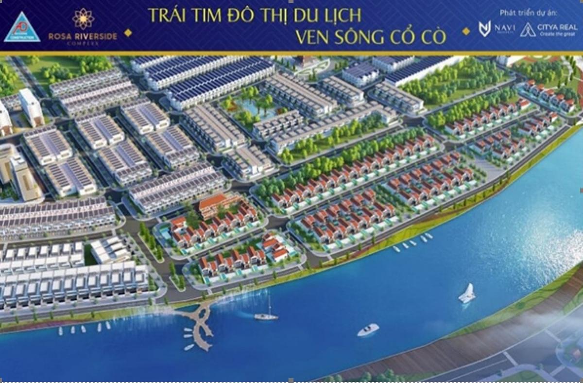Phối cảnh dự án Rosa Riverside Complex