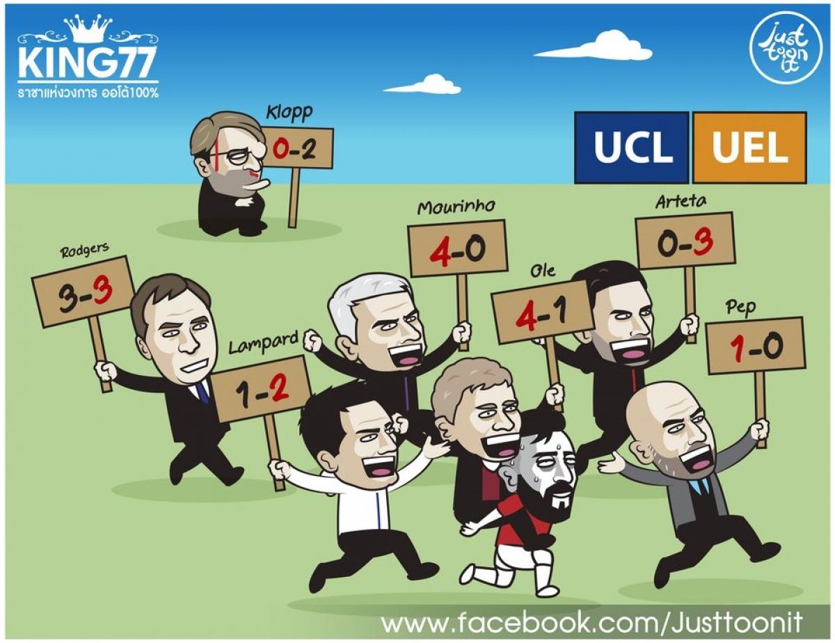 Các đội bóng Anh trở về từ Champions League và Europa League.