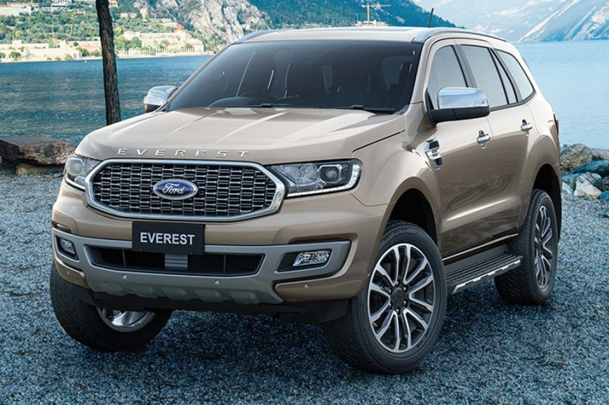 Ford Everest 2021.