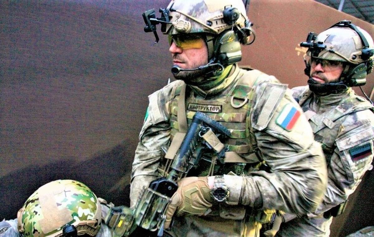 Alpha - lực lượng đặc nhiệm nổi tiếng thiện chiến của Nga; Nguồn:rbth.com
