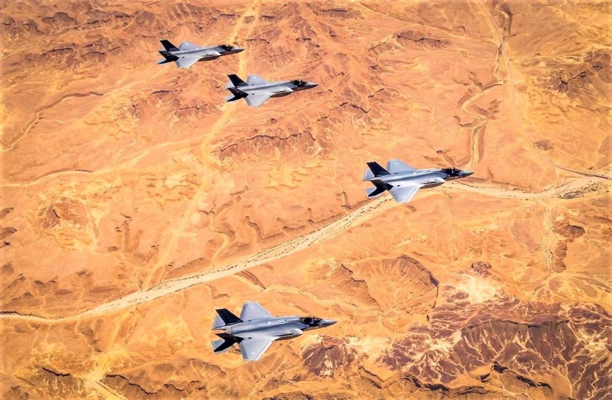 Mục đích thương vụ F-22 là nhằm duy trì ưu thế quân sự của Israel trong khu vực; Nguồn: timesofisrael.com