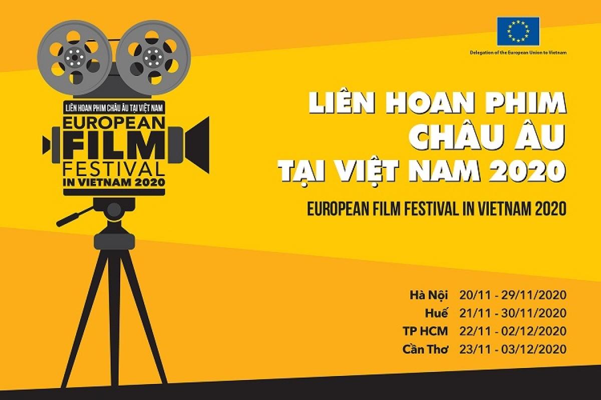 Lịch tổ chức Liên hoan phim châu Âu tại các tỉnh, thành phố