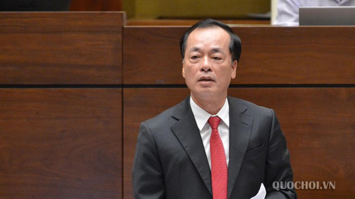 Bộ trưởng Bộ Xây dựng Phạm Hồng Hà. (Ảnh: quochoi.vn)
