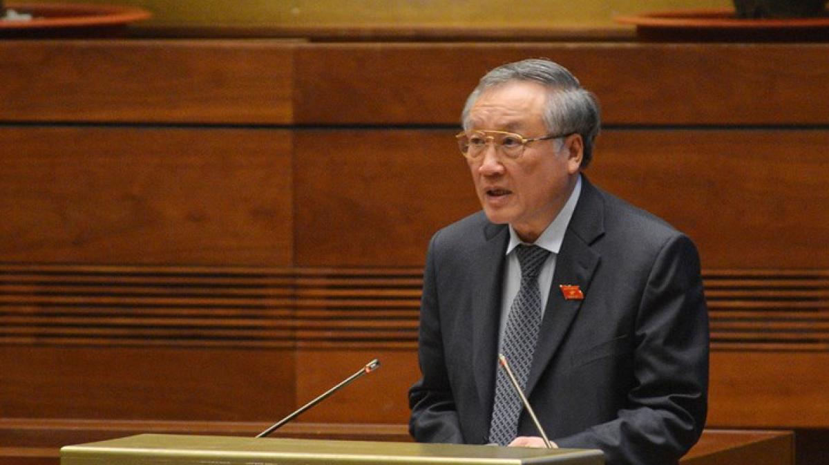 Chánh án Toà án nhân dân tối cao Nguyễn Hòa Bình.