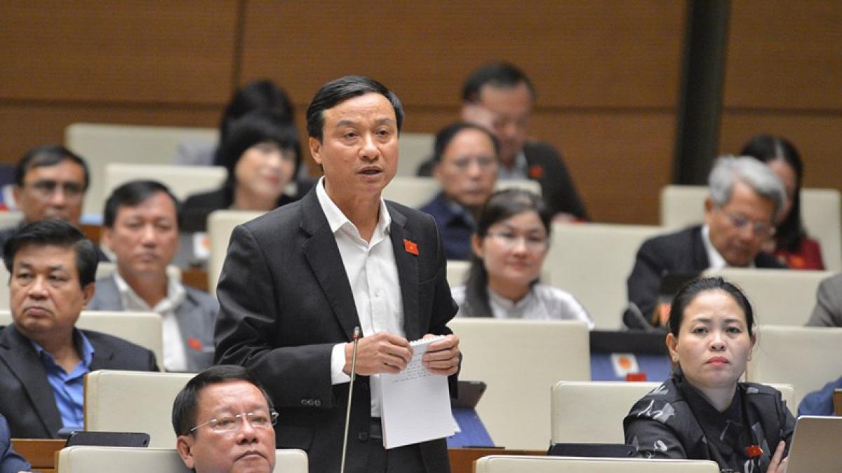 Đại biểu Quốc hội Bùi Văn Xuyền (đoàn Thái Bình)