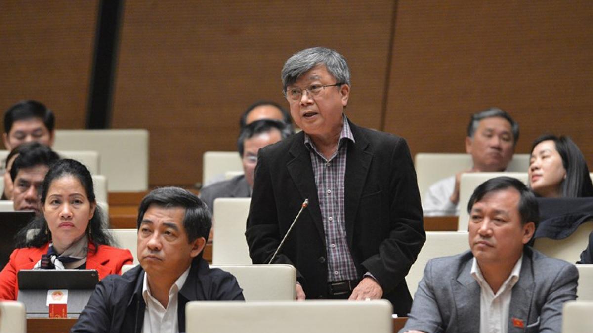 Đại biểu Quốc hội Trương Trọng Nghĩa (đoàn TPHCM)