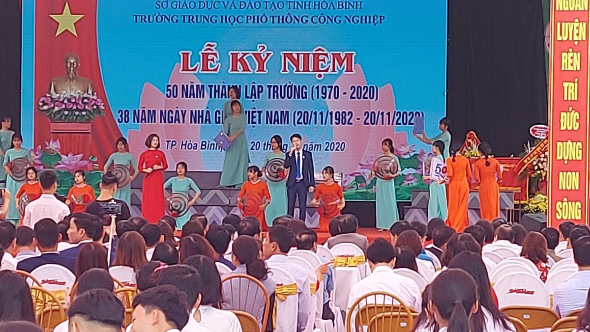 Trường THPT Công nghiệp Hoà Bình kỷ niệm 50 năm thành lập.