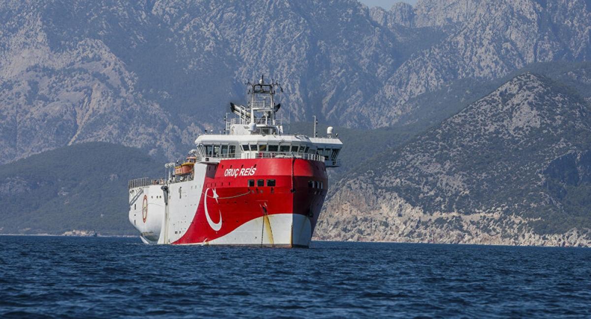 Việc thăm dò tài nguyên ở khu vực tranh chấp giữa Hy Lạp và Thổ Nhĩ Kỳ thời gian qua đang được sự quan tâm đặc biệt của dư luận quốc tế và Liên minh châu Âu. Nguồn ảnh: AP