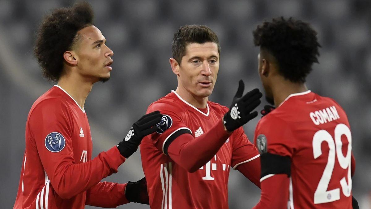 Bayern Munich trở thành đội đầu tiên đảm bảo một vé vào vòng 1/8 Champions League năm nay với ngôi nhất bảng. (Ảnh: Getty).