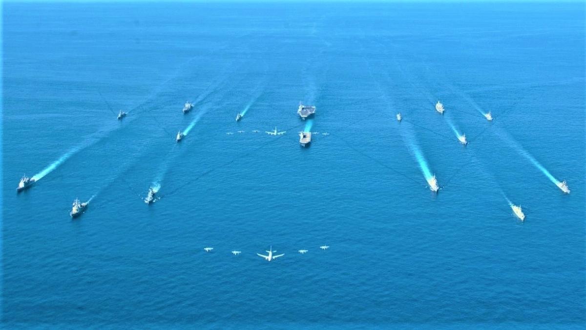 """Hải quân Mỹ được cho là đang có kế """"hồi sinh"""" Hạm đội 1 với sứ mệnh mới. Nguồn: US Navy."""