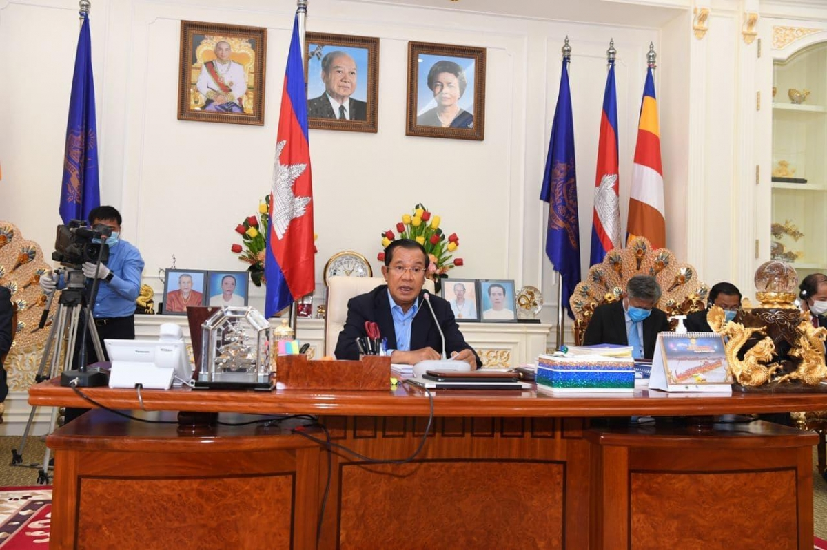 Thủ tướng Chính phủ Hoàng gia Campuchia Samdech Techo Hun Sen. (Ảnh: Fresh News)