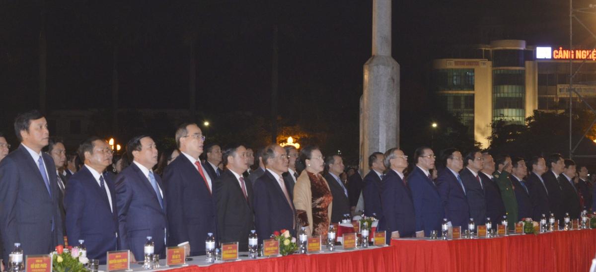 Chủ tịch Quốc hội dự Lễ kỷ niệm 990 năm danh xưng Nghệ An.