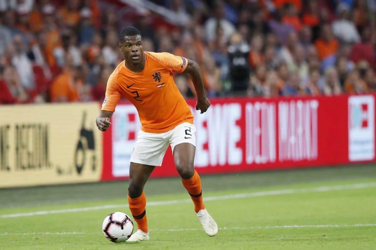 Hậu vệ: Denzel Dumfries (Hà Lan 3-1 Bosnia) – 8,0 điểm