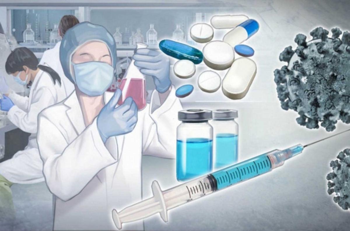 Hàn Quốc và nhiều nước khác đang nỗ lực phát triển vắc xin ngừa COVID-19 - Ảnh: YONHAP