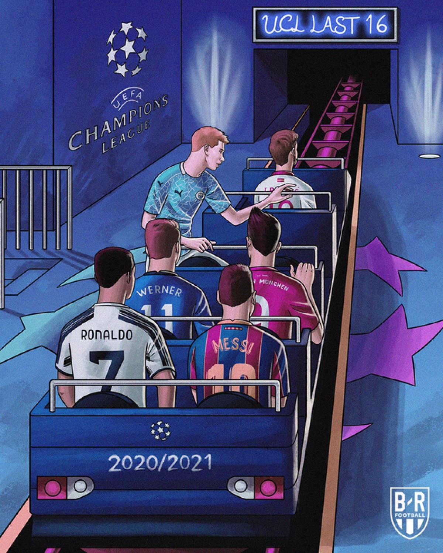 Dàn sao bóng đá thế giới trở về sân chơi quốc nội sau khi chinh chiến ở Champions League 2020/2021.