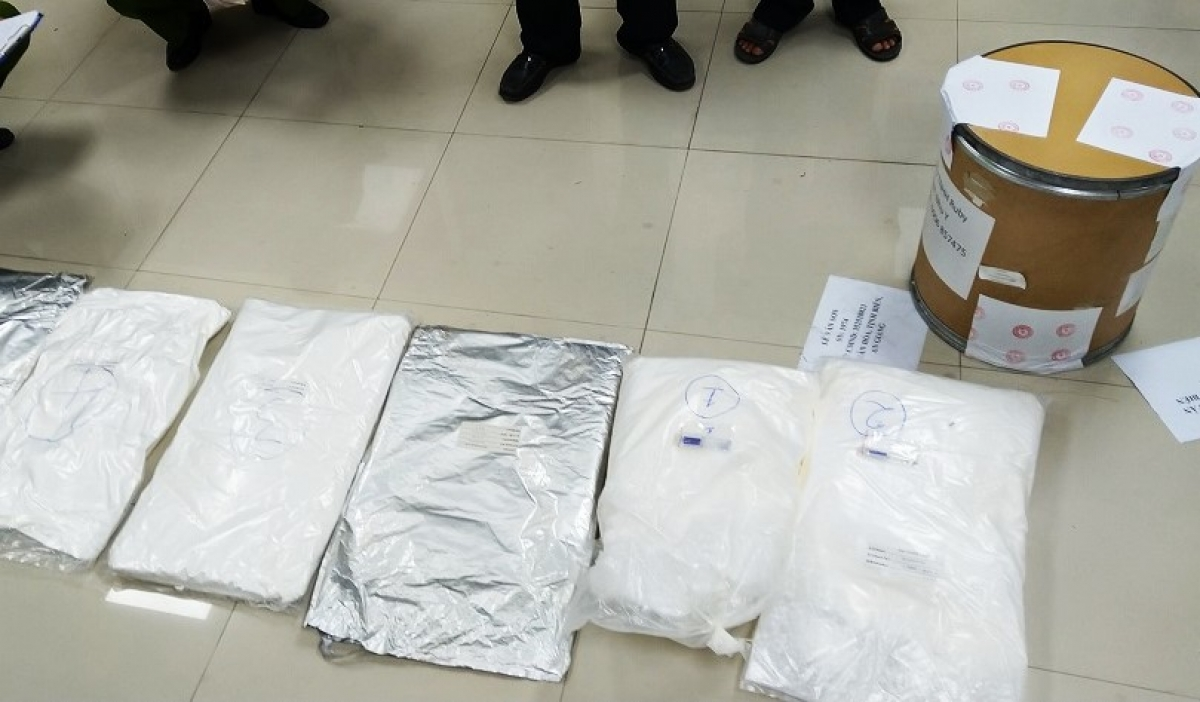 Tổng cộng số nghi ma túy là 30kg.