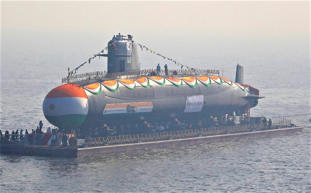 Ấn Độ cũng có chương trình dóng tàu ngầm hạt nhân trong nước. Nguồn: defence.pk