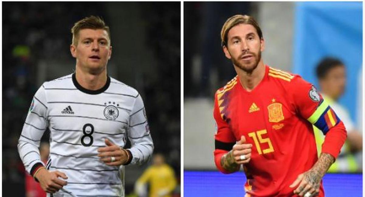Tây Ban Nha gặp Đức là trận đấu đáng chú ý nhất đêm nay, rạng sáng mai.