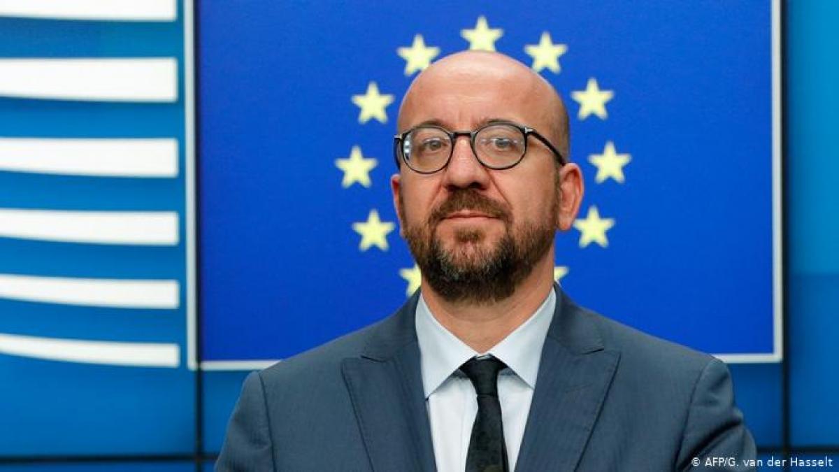 Chủ tịch Hội đồng châu Âu Charles Michel. Ảnh: AFP.