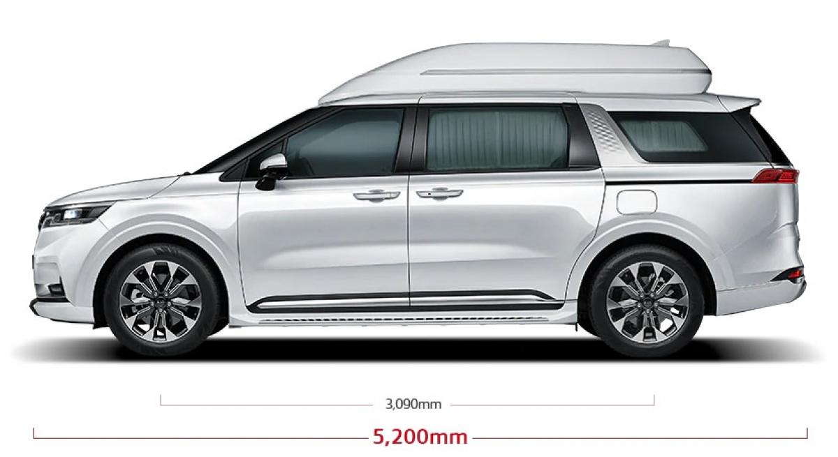 Với những sửa đổi này, chiếc Hi Limousine dài hơn một chút ở mức 5.200 mm (+45 mm) và cao hơn 2.045 mm (+305 mm). Tuy nhiên, chiều rộng thì không đổi 1.995 mm trong khi chiều dài cơ sở vẫn ở mức 3.090 mm.