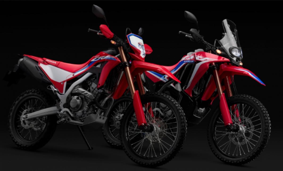 Hình ảnhHonda CRF250L, CRF250L Rally 2021 sắp ra mắt được hé lộ.