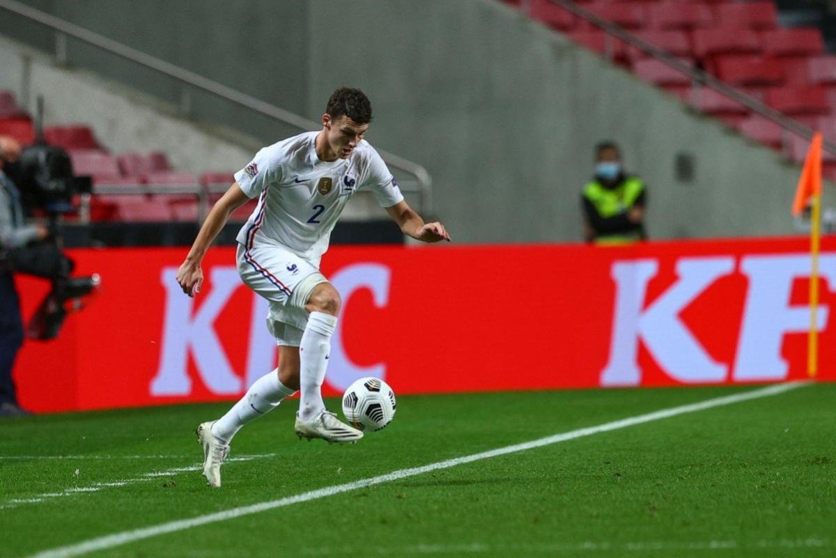 Hậu vệ: Benjamin Pavard (Bồ Đào Nha 0-1 Pháp) – 7,7 điểm