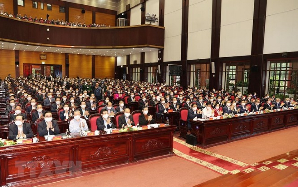Các đại biểu dự Hội nghị. (Ảnh: Trí Dũng/TTXVN)
